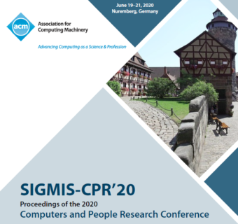 "Zum Artikel ""2020 ACM SIGMIS Computers and People Research Conference"""
